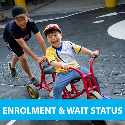 enrolment and wait status